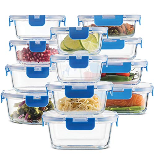 24-Piece Superior Glass Food