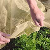OriginA Floating Row Cover & Frost Blanket for Garden, 2 oz/sq.yd, 7x30ft,Seed Germination & Frost Vegetable Protection Cover