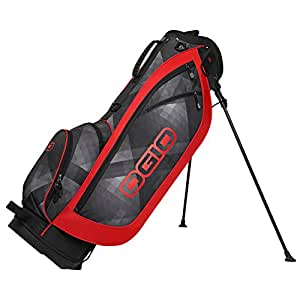 OGIO Dime Stand Bag, Cyber/Red