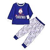 2PC Family Pajamas Matching Sets Santa Letter