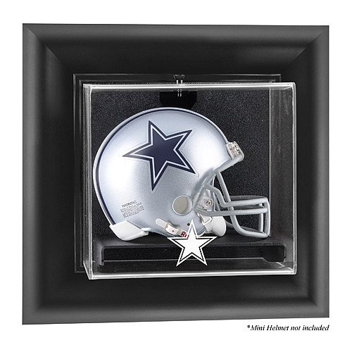 Mounted Memories Dallas Cowboys Wall Mounted Mini Helmet Display Case ()