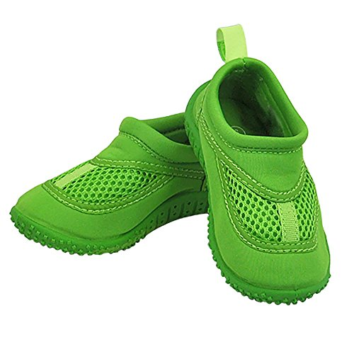 iplay Sand and Water Shoes for The Pool or Beach Non-Slip Sole Lime Green Size 4 from i play.