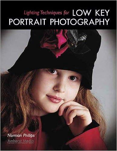 Book Lighting Techniques for Low Key Portrait Photography