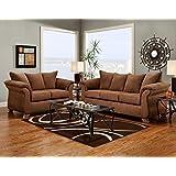 Amazon Com Microfiber Living Room Sets Living Room Furniture