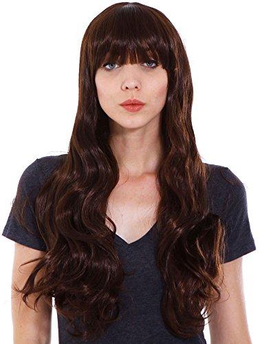 Short Curly Wavy Retro Woman Full Wigs Hair - 8