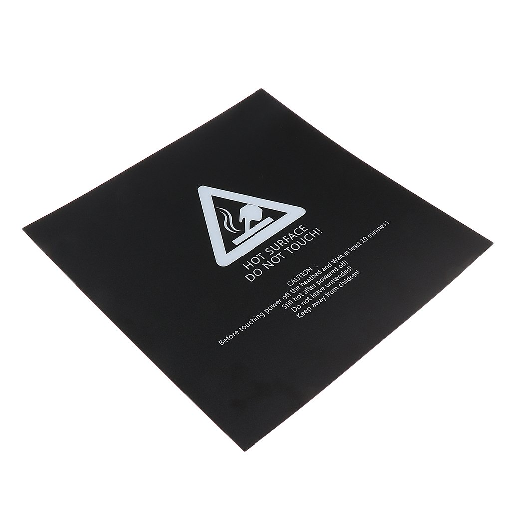 2Pcs//lot 3D Printer Heated Bed Build Surface Sticker 300x300mm//12x12inch