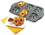 1 PcsNonstick Pretzel Baking Pan Makes 6 Pretzels Mini Donut Hole Makers