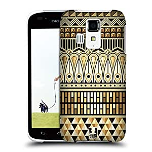 Head Case Designs Egyptian Art Deco Multicultural Ethnic Prints Protective Snap-on Hard Back Case Cover for Kyocera Digno T 302KC LTE