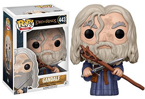 Funko Pop! Movies: The Lord of the Rings - Gandalf the Grey Vinyl Figure (Includes Compatible Pop Box Protector Case)