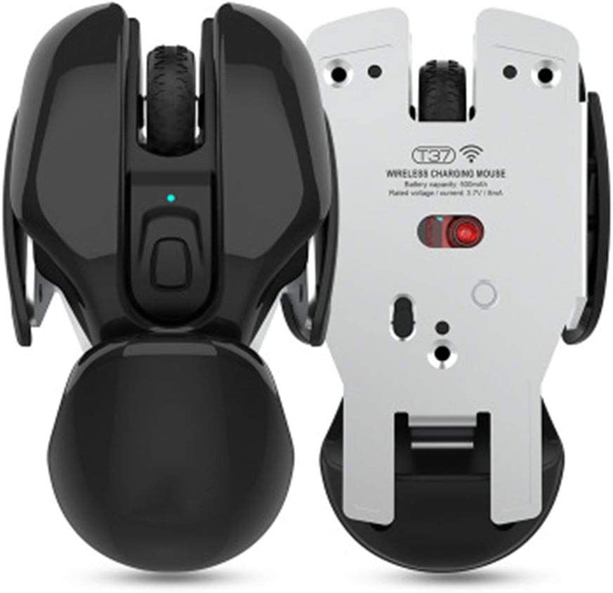 Rechargeable Silent Office Mouse 1600Dpi Adjustable Ergonomic Mouse ZJH 2.4G Wireless Mouse