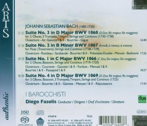 Bach: Suites Nos. 1-4 BWV 1066-1069