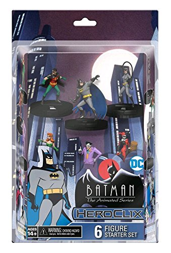 (HeroClix Batman The Animated Series 6 Figure Starter Set)