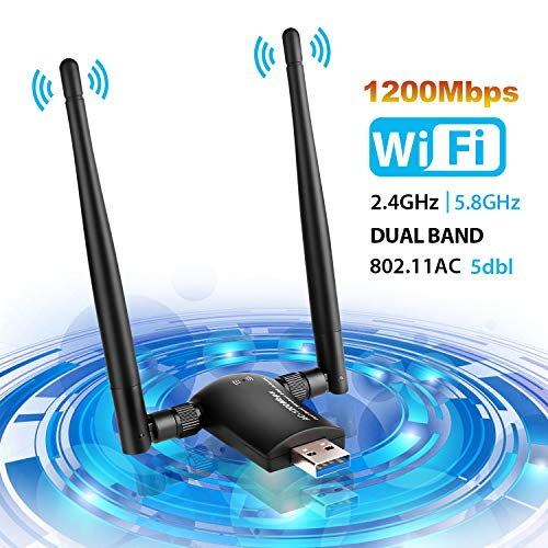 WLAN Adapter , WLAN Stick USB 2.0 Wireless WiFi Adapter WiFi Dongle , WLAN...