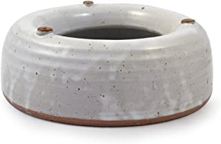 product image for Modern Artisans American Made Heavy-Weight Splash-Free Stoneware Water Bowl for Dogs or Cats