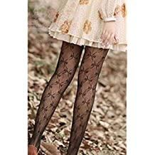 KAKA(TM) Fashion Womens Butterfly Design Fishnet Sexy Pantyhose Thin Silk Stockings Hollow Out Silk Stockings Good Elasticity Silk Stockings