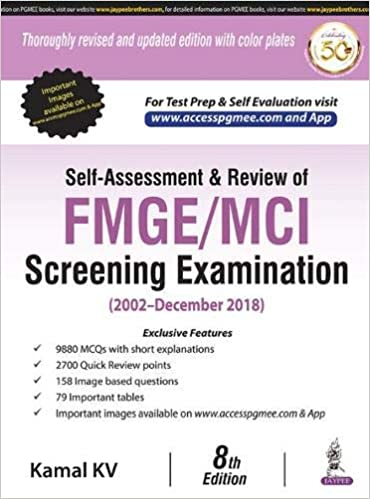 Buy Self-Assessment & Review Of Fmge/Mci Screening Examination (2002