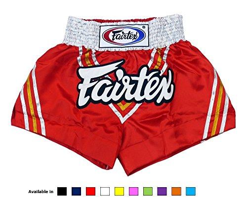 - Fairtex Muay Thai Boxing Shorts BS0654 Triangle Satin , Size M