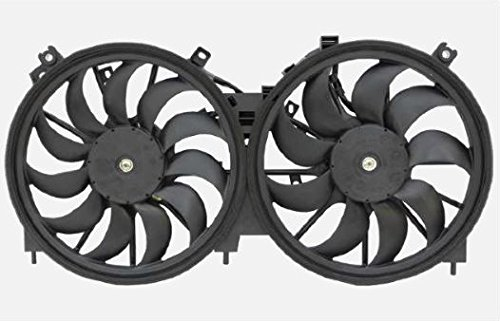 - Dual Radiator and Condenser Fan Assembly - Cooling Direct For/Fit NI3115138 09-14 Nissan Murano 11-16 Quest 12-14 Murano Convertible