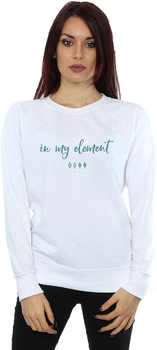 Disney Mujer Frozen 2 In My Element Camisa De Entrenamiento: Amazon.es: Ropa y accesorios