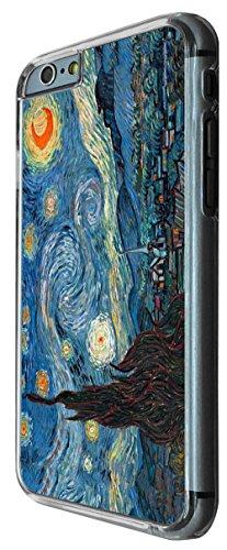 905 - Vincent Van Gogh Starry Night Design iphone 6 PLUS / iphone 6 PLUS S 5.5'' Coque Fashion Trend Case Coque Protection Cover plastique et métal