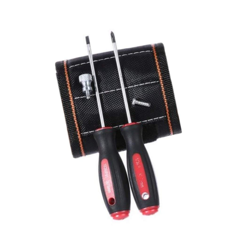 BerryKing Magnetic Craft Magnet-Armband Geschenk & Arbeitserleichterung fü r Hand- & Heimwerker Werkzeuggü rtel fü r Holding Werkzeuge, Dü bel, Bohrungen, Nä gel und Schrauben