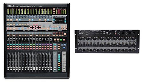 PreSonus StudioLive CS18AI Control Surface+StudioLive RML32AI 32-Channel Mixer ()