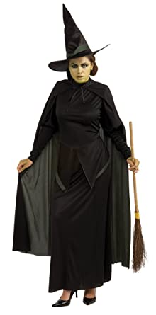 Amazon.com: Wicked Witch Adult Costume: Clothing