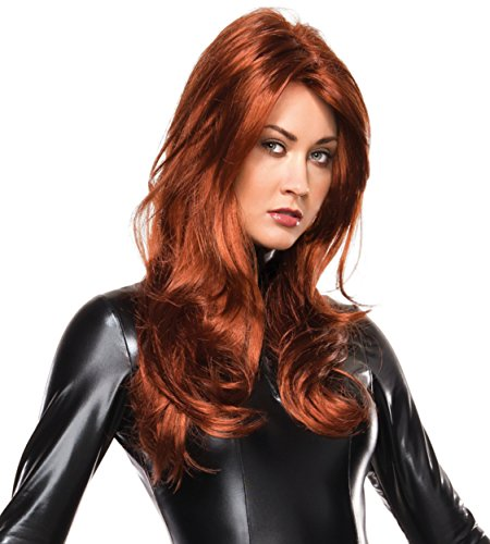 [Marvel Universe Black Widow Wig, Multi, One Size] (Black Widow Marvel Costumes)