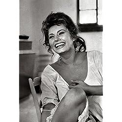 Sophia Loren Poster, Smiling, Beautiful Italian Actress