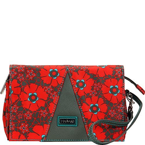 Hadaki Nylon Travel Wallet (Primavera Lacey)