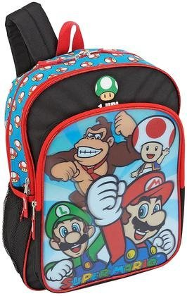 Long Tail Products Super Mario Backpack