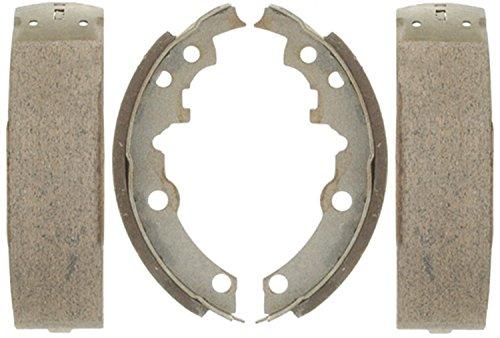ACDelco 14553B Advantage Bonded Rear Brake Shoe Set