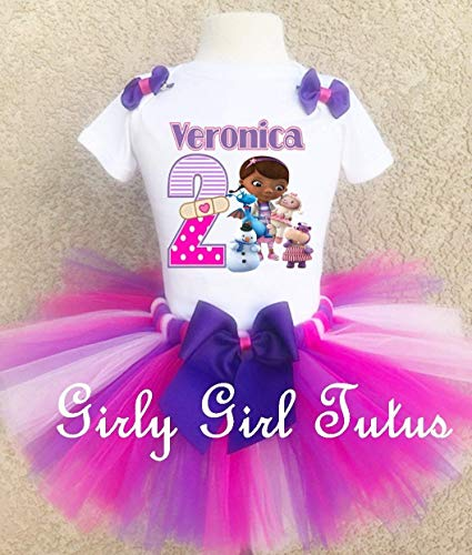 Doc Mcstuffins and Friends Birthday Outfit Tutu Set -