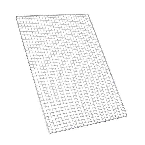Stainless Steel Cooking Grids Grates Grill Cooling Rack Replacement For Charbroil Thermos Parts - Rectangular Barbecue Tools Grill Plated Baking Net