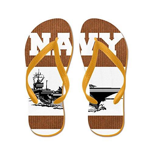 Infradito Navy - Infradito, Sandali Infradito Divertenti, Sandali Da Spiaggia Arancione