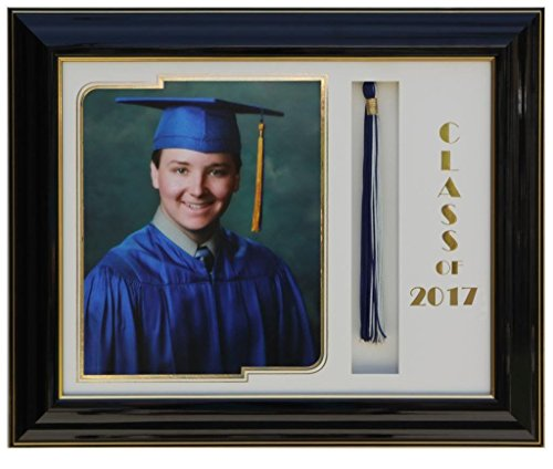 Amazon.com : Graduation frame 8x10 Black/White 2017 (customizable ...