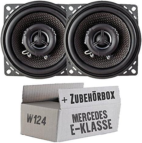Ampire Cp100 10cm Lautsprecher 2 Wege Koaxialsystem Einbauset Für Mercedes W124 T Just Sound Best Choice For Caraudio Navigation