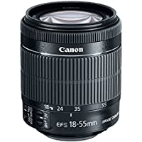 Canon EF-S 18-55mm f/3.5-5.6 IS STM Zoom Lens (Bulk Packaging) (Certified Refurbished)