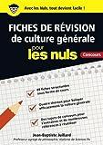 Fiches de révision de culture générale pour les Nuls Concours
