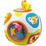 Toysery Caterpillar Move and Crawl Ball Toys for Kids - Happy Learning Ball Educational Toy with Lights and Music - Joyful Learning Ball Toys for Baby 6 Months