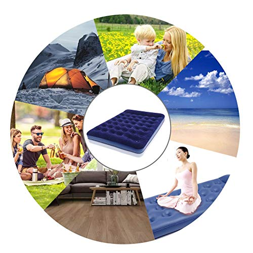Ensteinberge 2 Persons Large Size Air Moistureproof Camping Mats Inflatable Air Bed Outdoor Picnic Beach Mattress Sleeping Mats with Pump by Ensteinberge (Image #6)