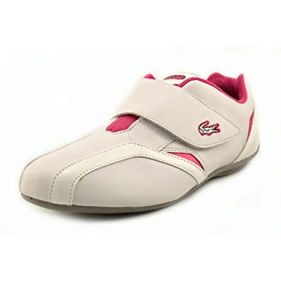7e109e79f32b07 Lacoste Protect Lt Spm Mens White Leather Sneakers Shoes Size UK 8 ...