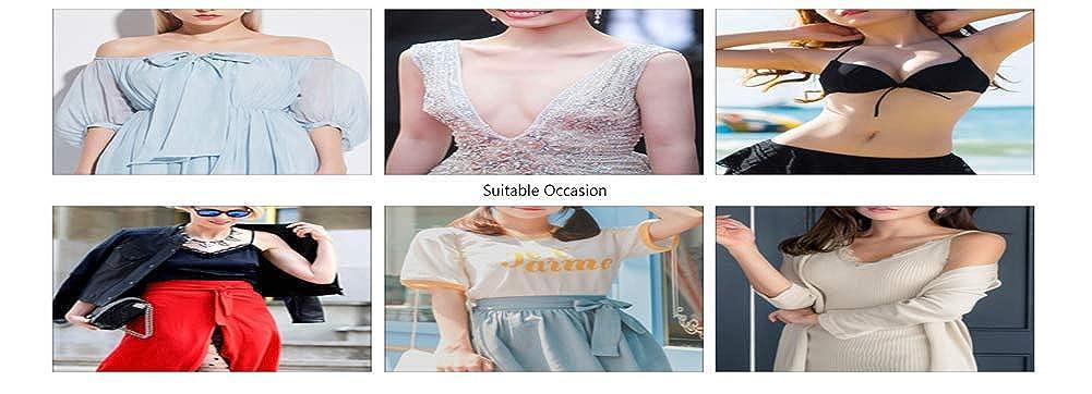 ... Reutilizable Invisible Adhesive Silicone Nipple Covers (2 pares), desechable Nipple Covers Brest Petals (2 pares): Amazon.es: Ropa y accesorios