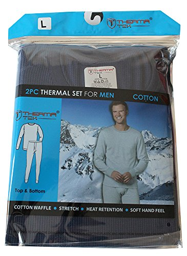 therma-tek-formerly-comfort-fit-winter-mens-thermal-100-cotton-top-bottom-2-pcs-set-navy-blue-l