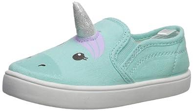f80ea1a83ec7 carter s Girls  Tween Casual Slip-on Skate Shoe