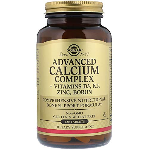 (Solgar Advanced Calcium Complex 120 Tablets)
