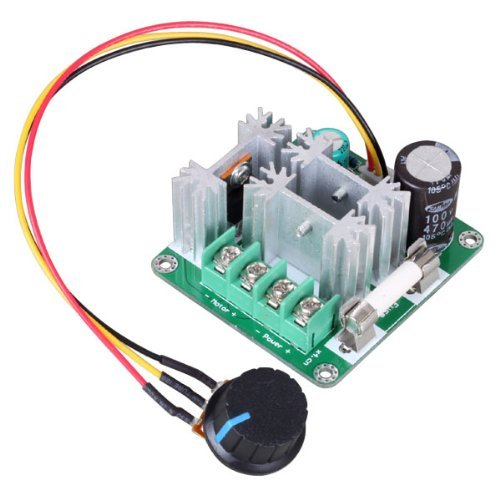 RioRand™ Upgraded 6V-90V 15A DC Motor Pump Speed (Pwm Speed Controller)