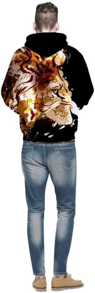 XIN 3D Sweatshirts Herren Galaxy Prints Fashion Kapuzenpullover Sprint Kleidung Kapuzenpullover Pullover,L S
