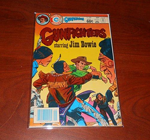 Gunfighters Charlton comic book 80 september 1983 starring jim bowie