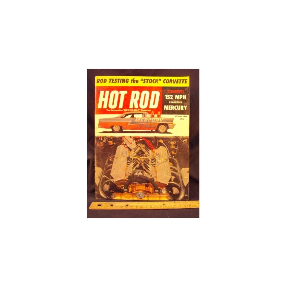 1956 56 SEP September HOT ROD Magazine, Volume 9 Number # 9
